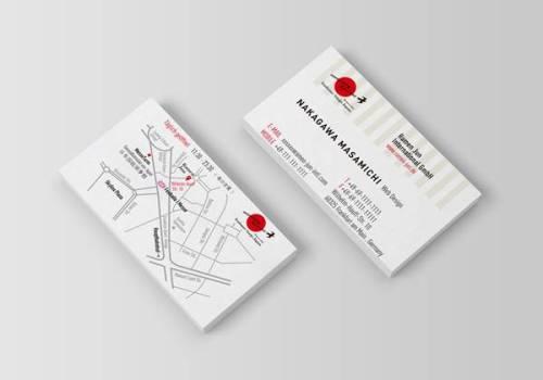 ショップカードと名刺のデザイン | Ramen JUN Frankfurt