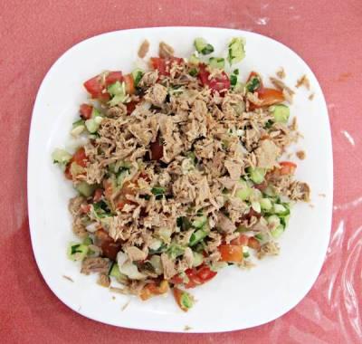 チュニジア風サラダ