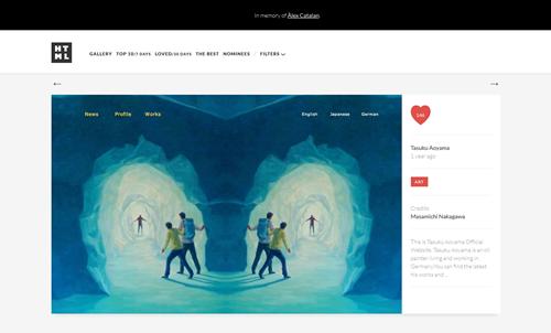 Tasuku Aoyama - html inspiration  HTML-CSS Web Design Inspiration
