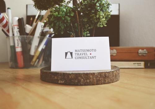 旅行・高級リムジン会社のロゴデザイン | 松本トラベルコンサルタント