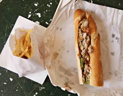 チュニジアのサンドイッチ
