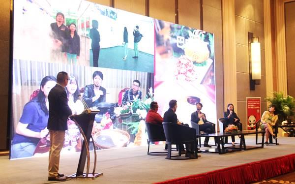 四川省政府から招聘され、四川省巴中市で行った四川美食達人の旅の記者会見